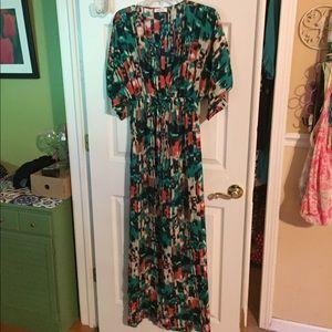 Calvin Klein maxi dress large